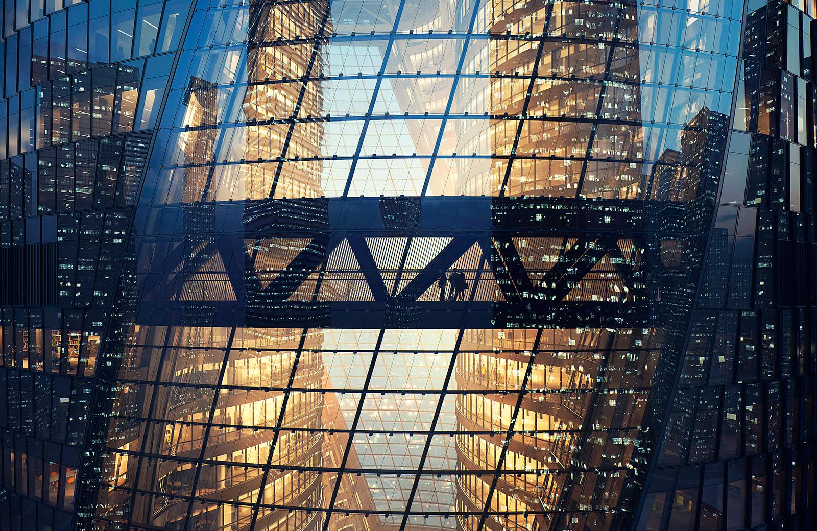 Leeza SOHO skyscraper, Beijing, China
