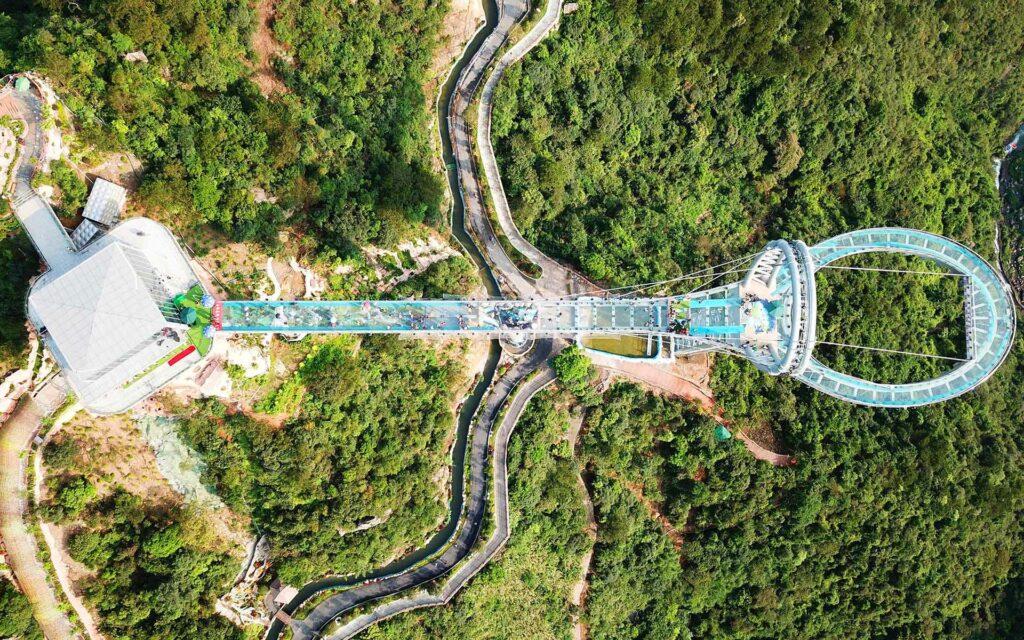 Huangtengxia Tianmen Sky Walk