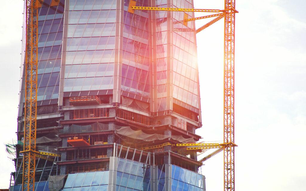 Lakhta Centre under construction